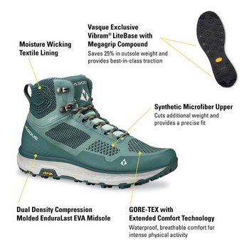 VASQUE Breeze LT GTX WMN green/green
