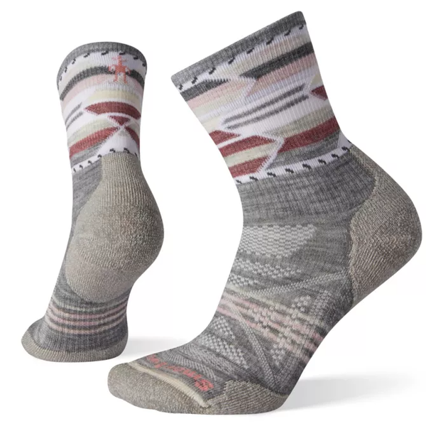 Smartwool Women PhD OD Lt Ptrn MC/LIGHT GRAY  M
