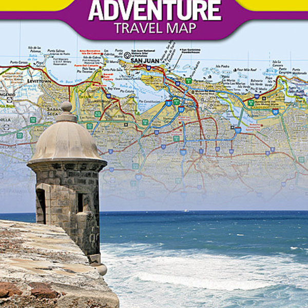 NATIONAL GEOGRAPHIC Adventure Puerto Rico Travel Map