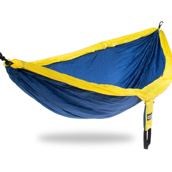 ENO (Eagles Nest Outfitters) DoubleNest - Sapphire / Yellow