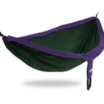 ENO (Eagles Nest Outfitters) DoubleNest - Forest/ Purple