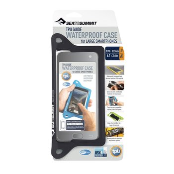 Sea to Summit TPU Guide Waterproof Case for LARGE SMARTPHONES (IPX8)
