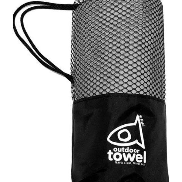 atommyco Fishi Microfiber Towel Grey