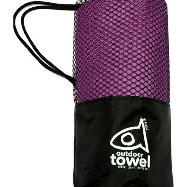 atommyco Fishi Microfiber Towel Purple