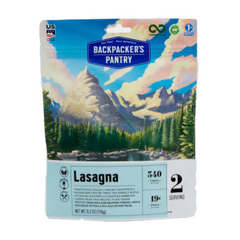 Backpacker Pantry Backpackers Pantry Lasagna Vegeterian 2p
