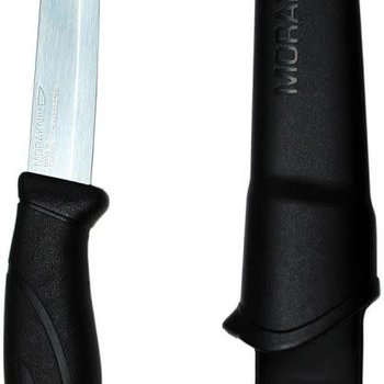 LIBERTY MOUNTAIN MORAKNIV COMPANION KNIFE BLACK