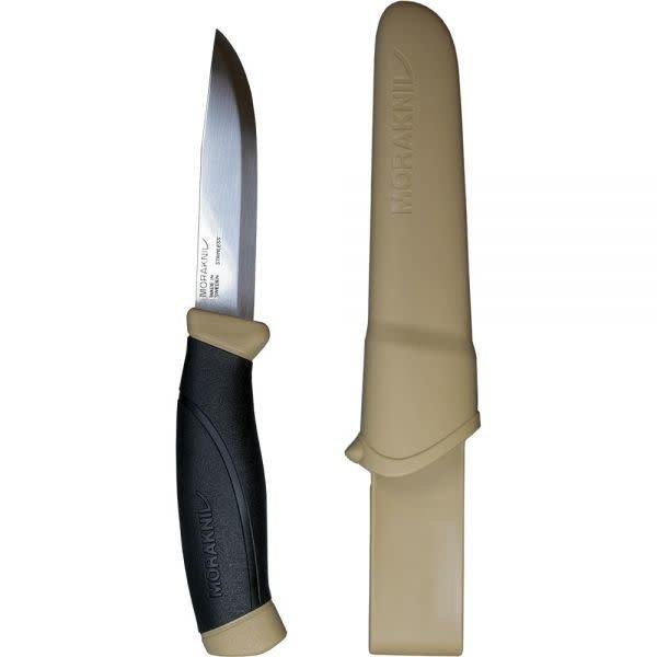 LIBERTY MOUNTAIN MORAKNIV COMPANION KNIFE DESERT