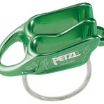 Petzl REVERSO BELAY DEVICE GREEN