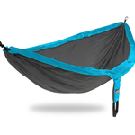 Eagles Nest Outfitters (ENO) DoubleNest Hammock CHARCOAL / TEAL