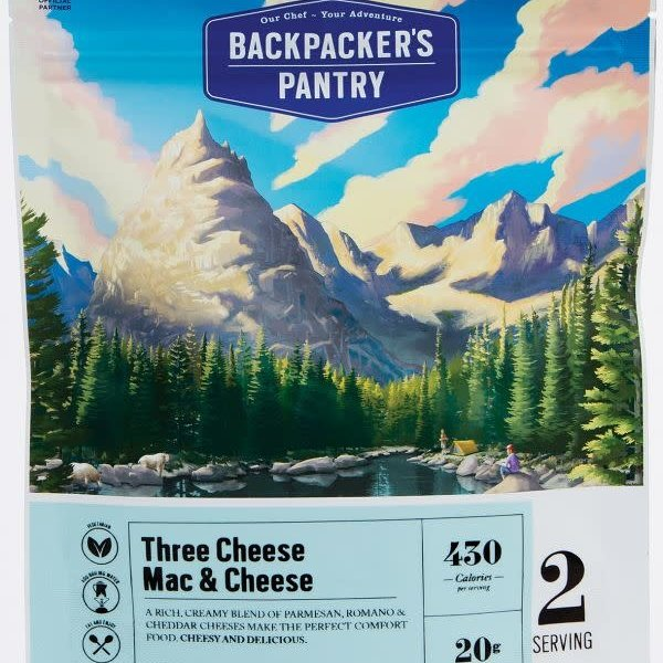 Backpacker Pantry Backpackers Pantry Three Cheese Mac & CheeseVegeterian 2p