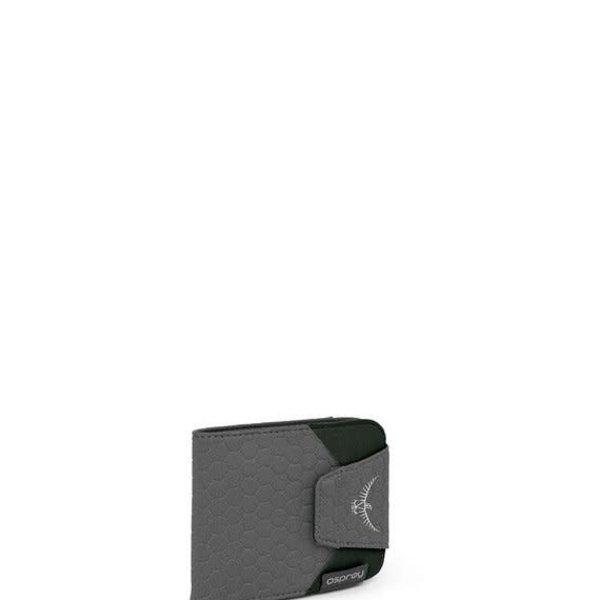 OSPREY QuickLock RFID Wallet Shadow Grey O/S
