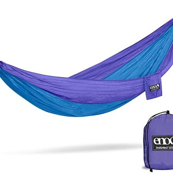 Eagles Nest Outfitters (ENO) DoubleNest Hammock  Purple / Teal