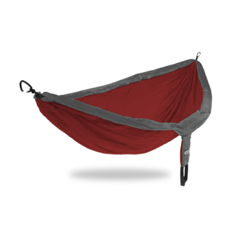 ENO (Eagles Nest Outfitters) DoubleNest - Maroon/ Charcoal