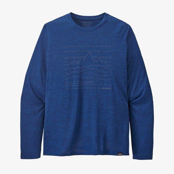 Patagonia M's L/S Cap Cool Daily UESX Graphic Shirt S
