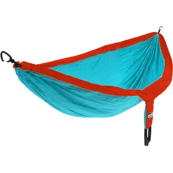 Eagles Nest Outfitters (ENO) DoubleNest Hammock  Aqua/Red
