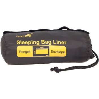 ACECAMP ACE CAMP PONGEE SLEEPING BAG LINER RECT