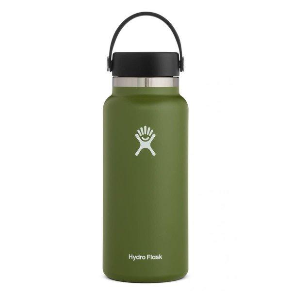 Hydroflask 32 OZ WIDE MOUTH 2.0 FLEX CAP OLIVE