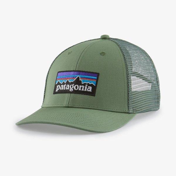 Patagonia P-6 Logo LoPro Trucker Hat.      SEGN