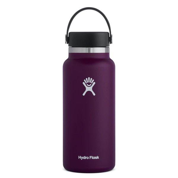 Hydroflask 32 OZ WIDE MOUTH 2.0 FLEX CAP EGGPLANT