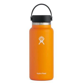 Hydroflask 32 OZ WIDE MOUTH 2.0 FLEX CAP CLEMENTINE