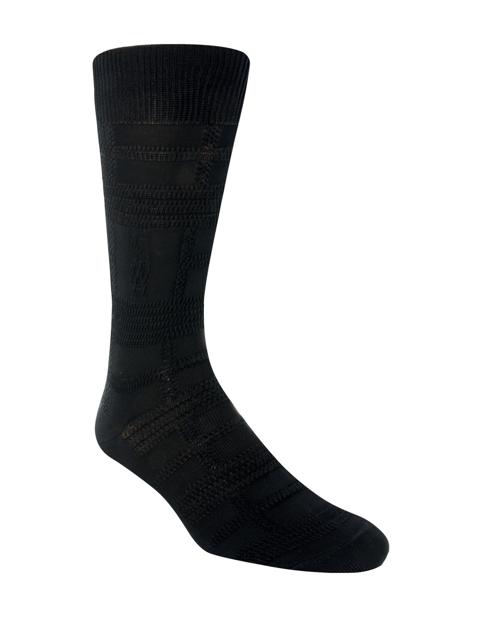 Stacy Adams Socks Stacy Adams Gemstone For Size 8-12.5 Black