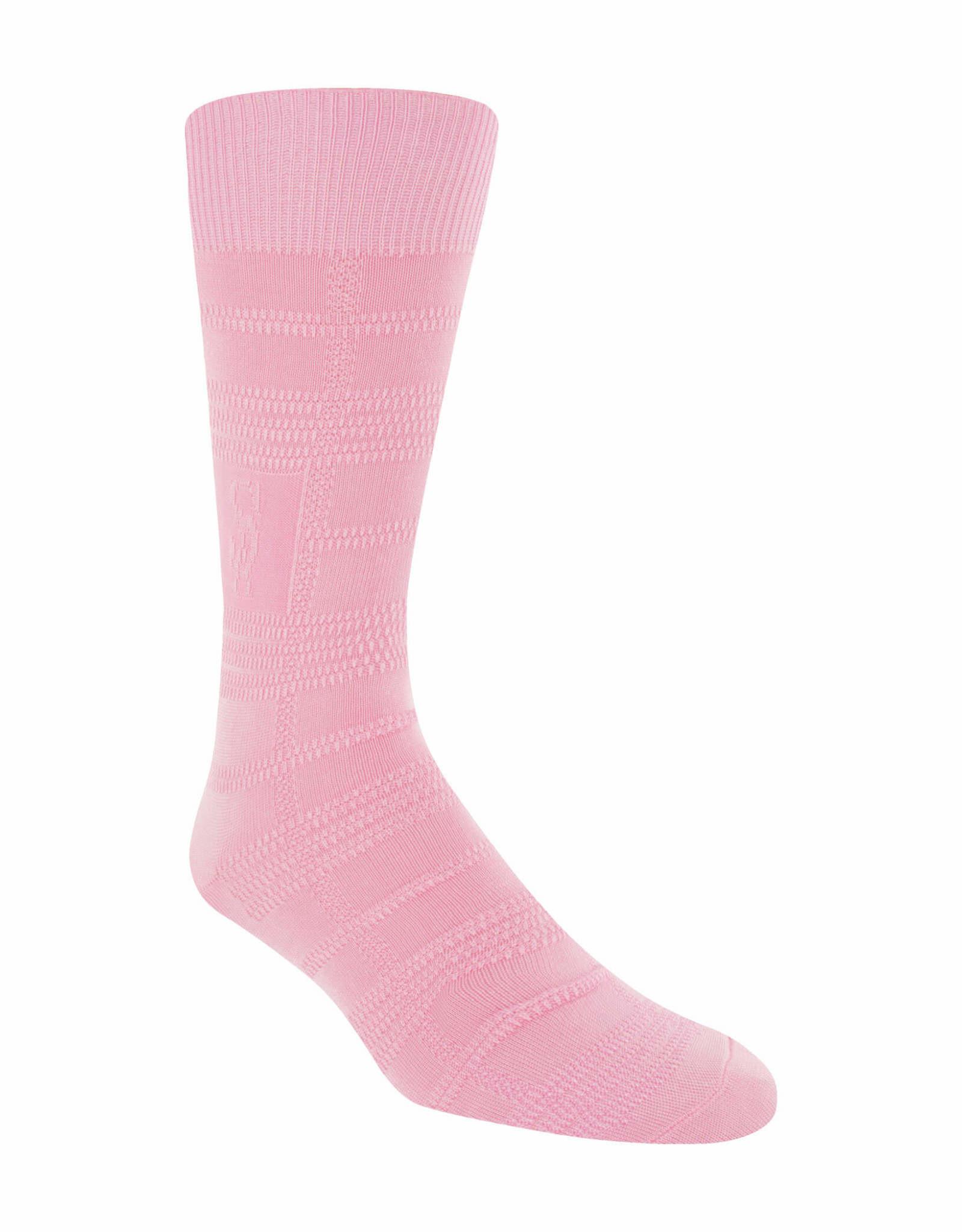 Stacy Adams Socks Stacy Adams Gemstone For Size 8-12.5 Pink