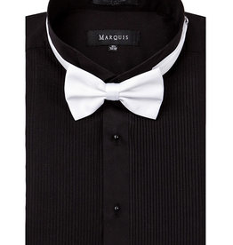 Marquis Tuxedo Dress Shirt Regular Fit Pleated Black