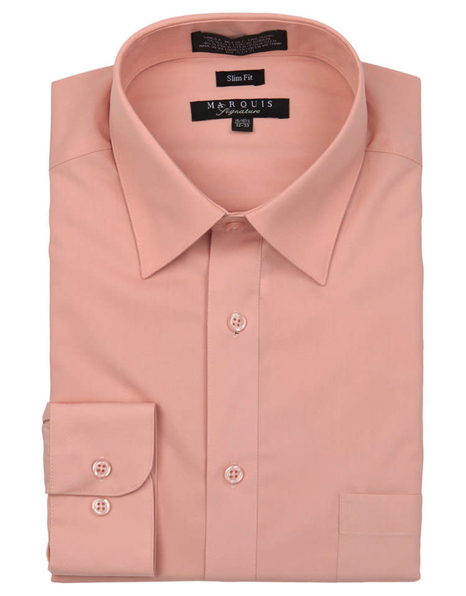Marquis Dress Shirt MarQuis Slim Fit Dust Rose