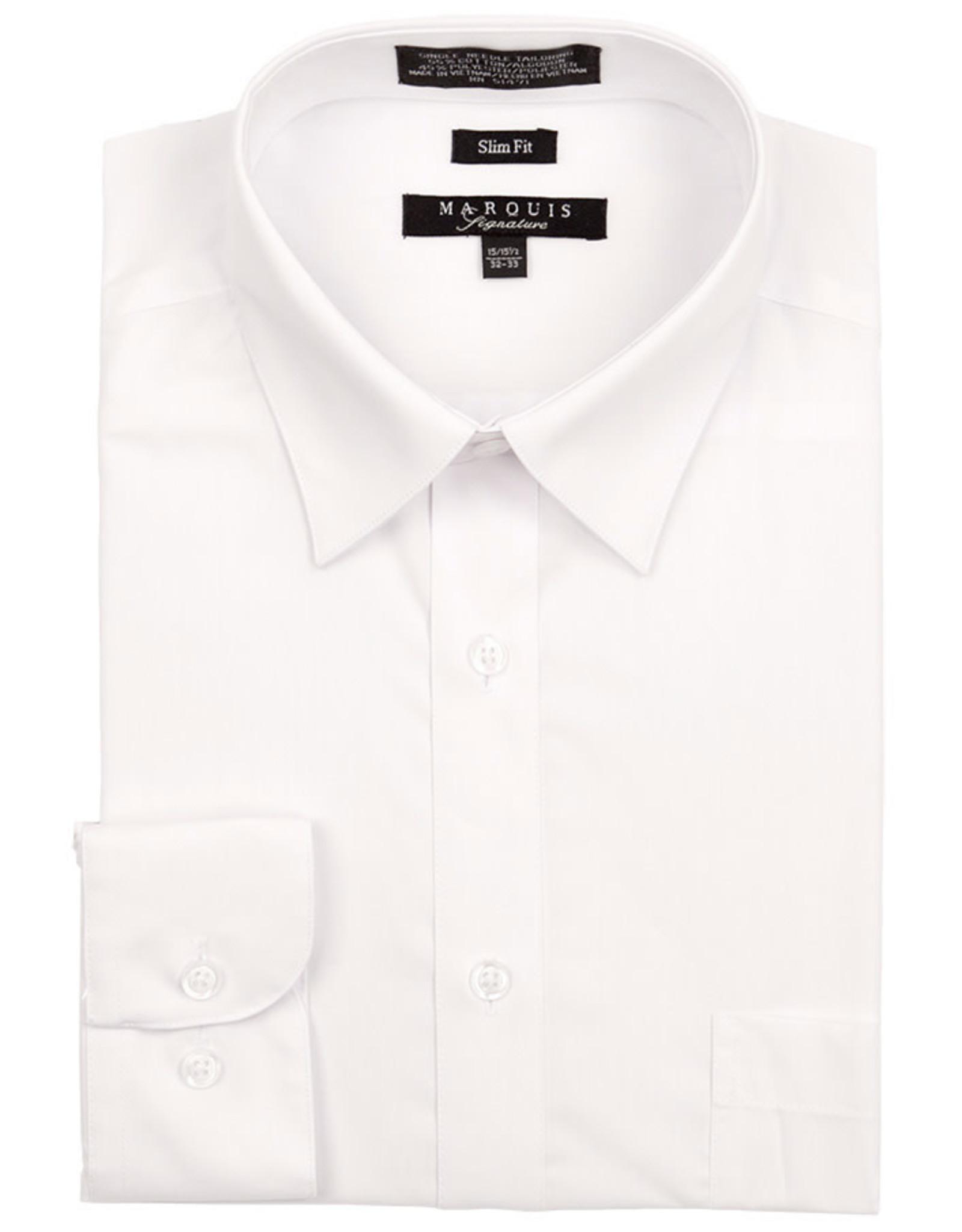 Marquis Dress Shirt MarQuis Slim Fit White
