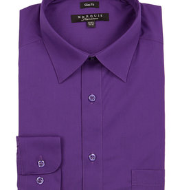 Marquis Dress Shirt MarQuis Slim Fit Purple