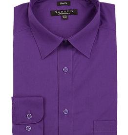 Marquis Dress Shirt MarQuis Slim Fit Purple