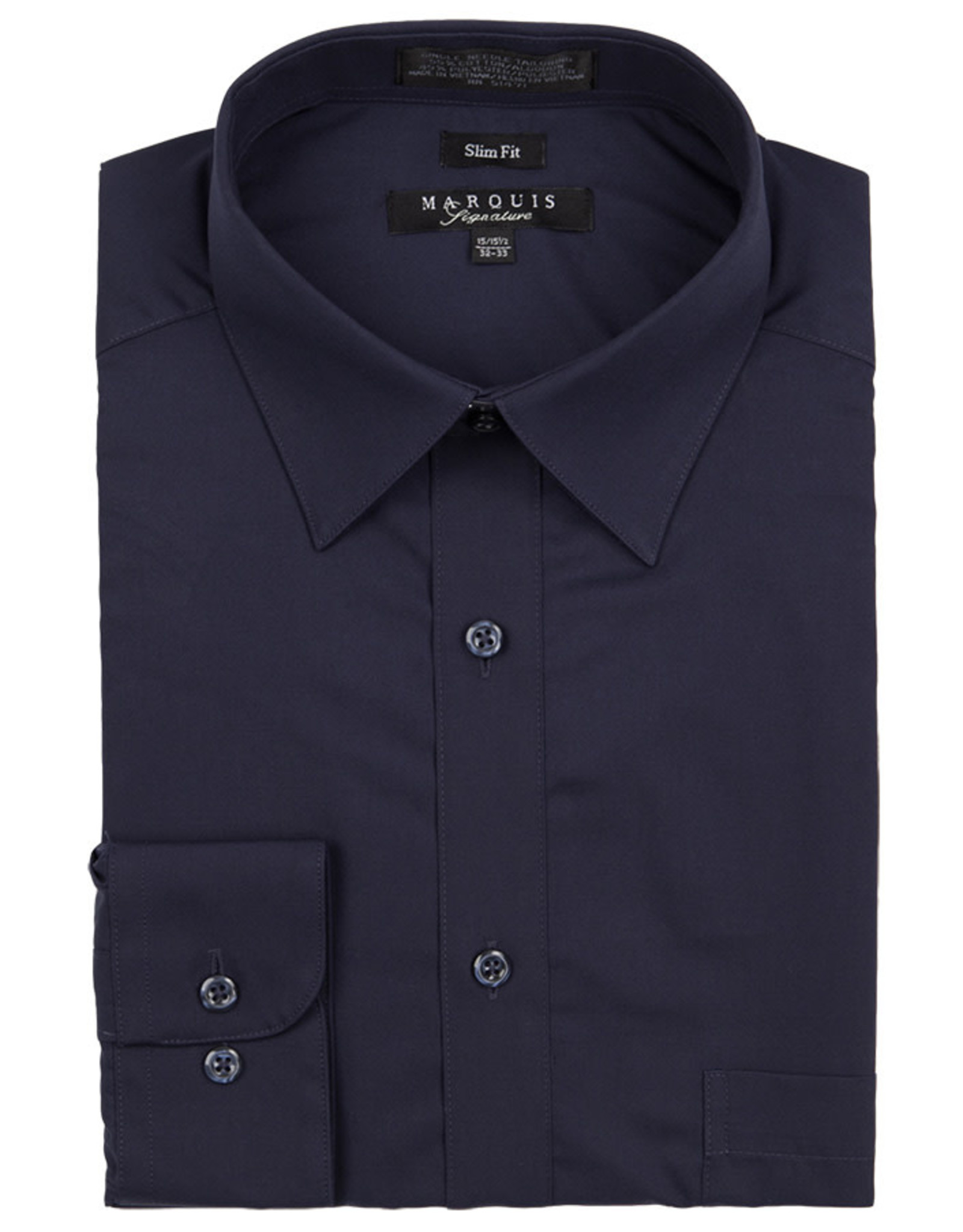 Marquis Dress Shirt MarQuis Slim Fit Navy