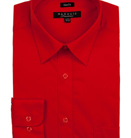 Marquis Dress Shirt MarQuis Slim Fit Red