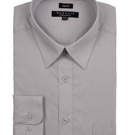 Marquis Dress Shirt MarQuis Slim Fit Silver