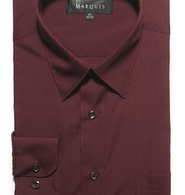 Marquis Dress Shirt MarQuis Regular Fit Burgundy