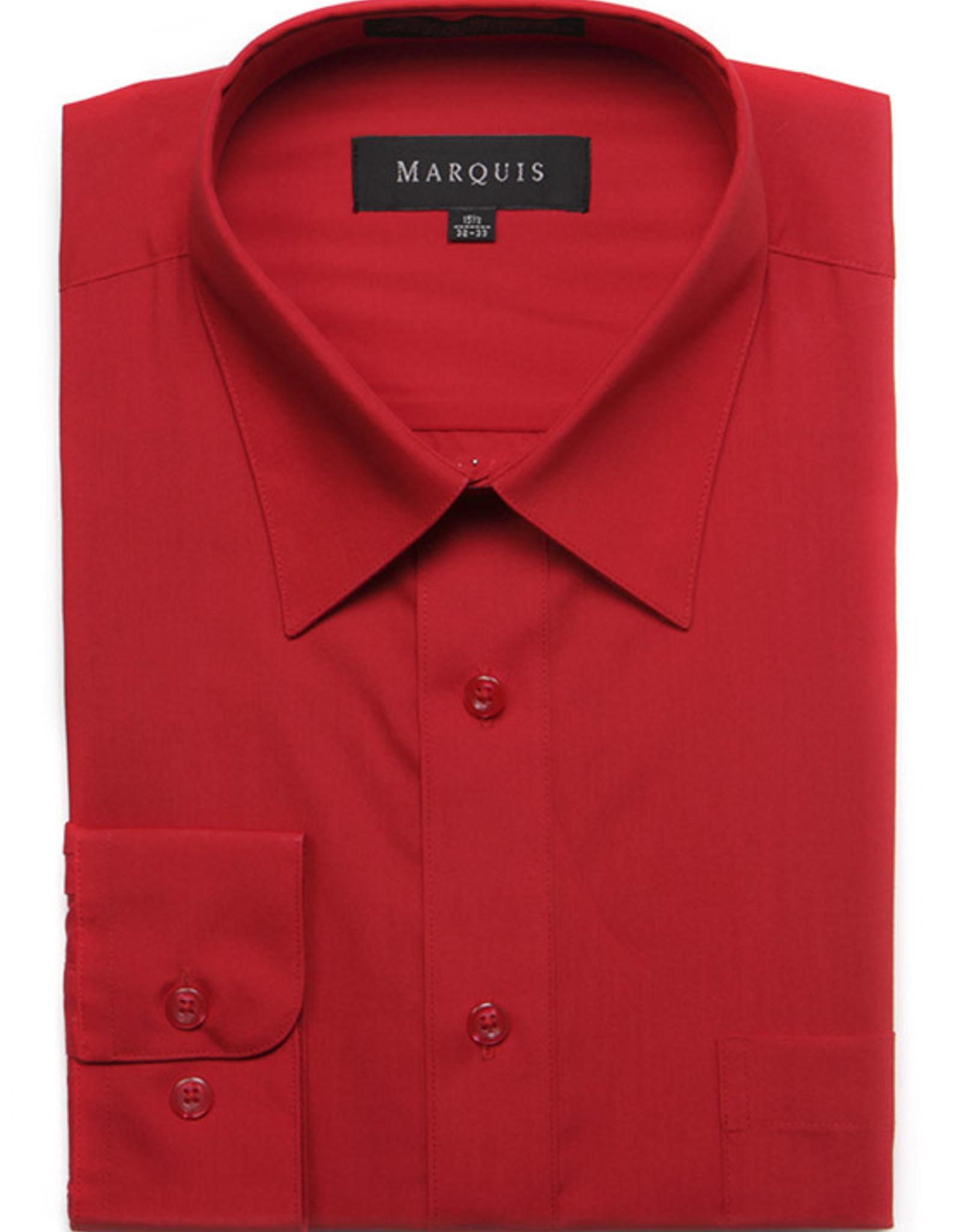 Marquis Dress Shirt MarQuis Regular Fit Red