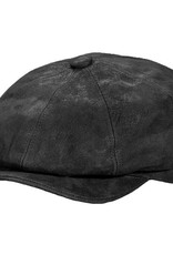 Hat Stetson 1865 EDISON Leather Suede Black