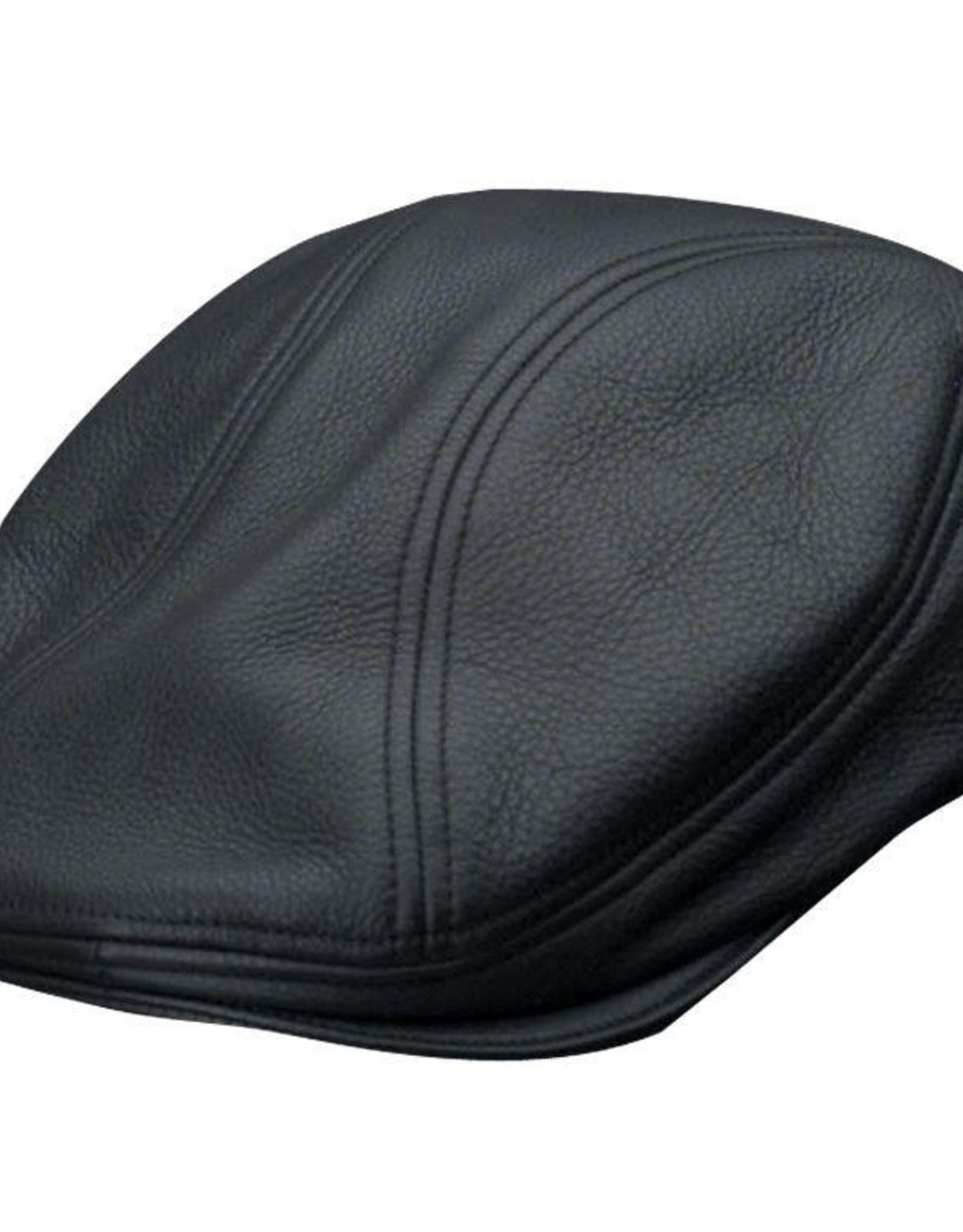 STETSON Hat Stetson  MOHER Oily Leather Black