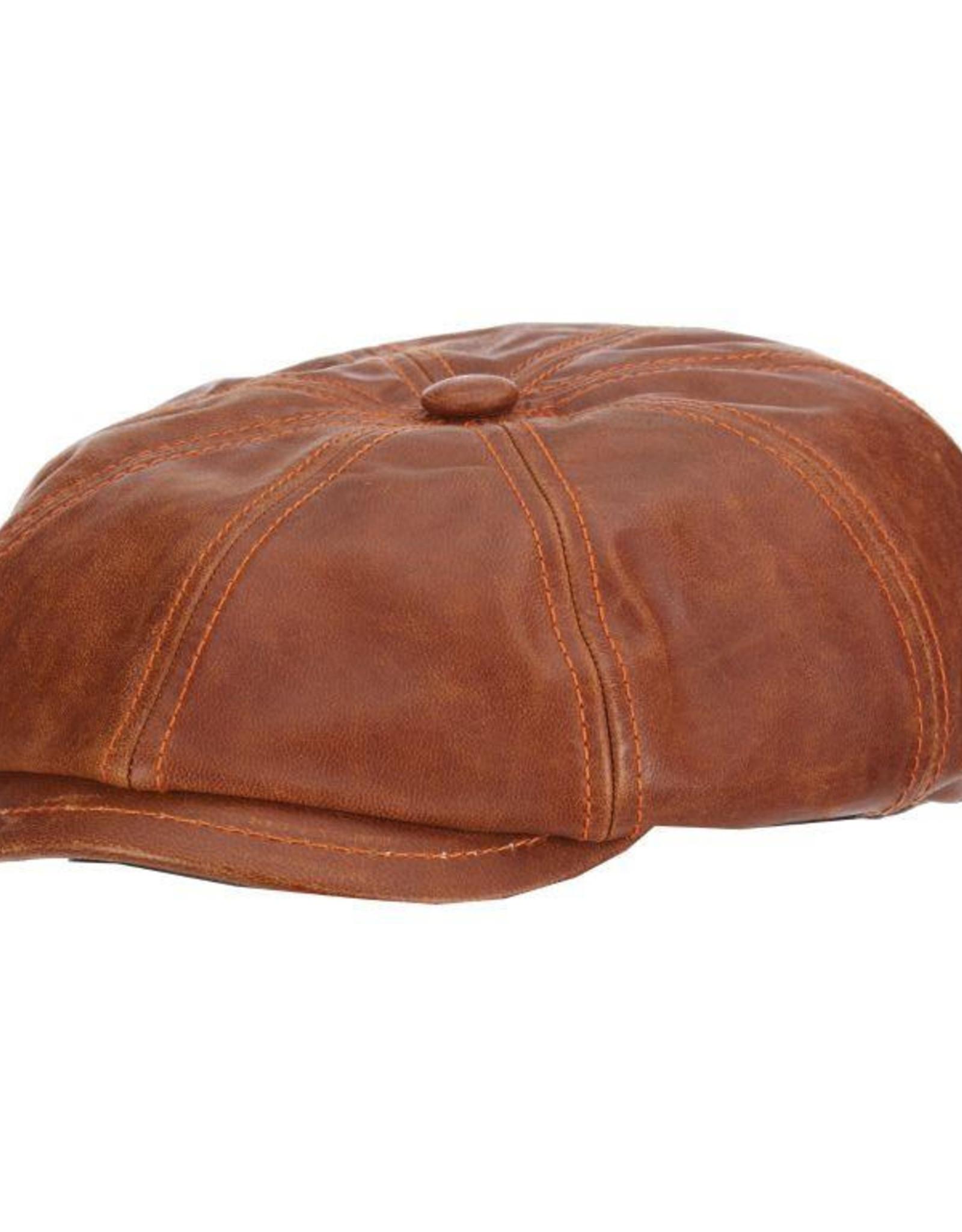 Hat Stetson  HARPER Goat Leather Saddle