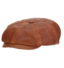 STETSON Hat Stetson  HARPER Goat Leather Saddle