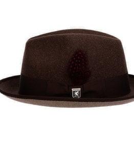 Stacy Adams Hat Stacy Adams COLONY Fedro Brown/Tan