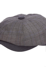 Hat Stetson NEWBRIDGE Poly Newsboy Gray