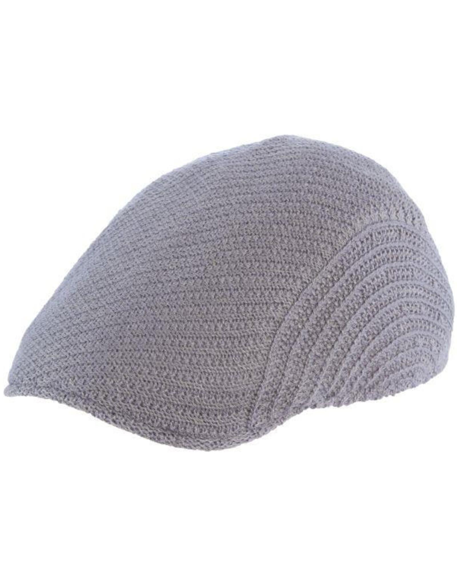 Stacy Adams Hat Stacy Adams JORDAN Knit Wool Gray