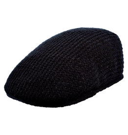 Stacy Adams Hat Stacy Adams FOLWELL Knit Wool Black