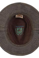 Indiana Jones Hat Indiana J CRYSTAL SKULL Weathered Cotton Fedora
