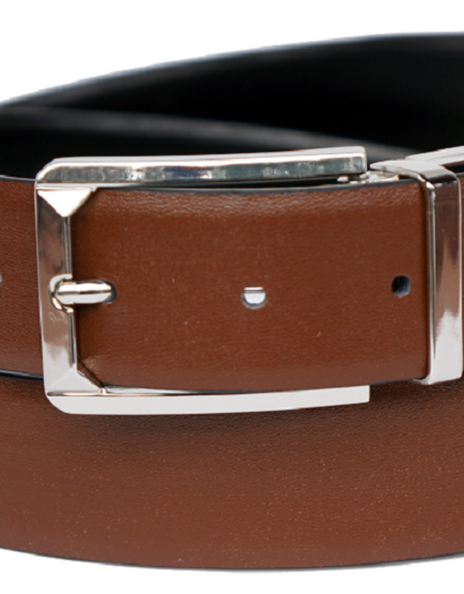 "Bruno Capelo Belt Reversible Black/Brown Size 1.25"" upto 44W"