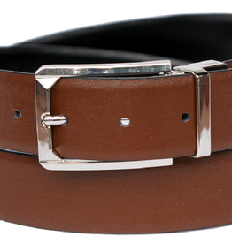 "Bruno Capelo Belt Reversible Black/Brown Size 1.25"" upto 44W"