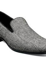 Stacy Adams Shoes Stacy Adams 25391 Black & White Plaid