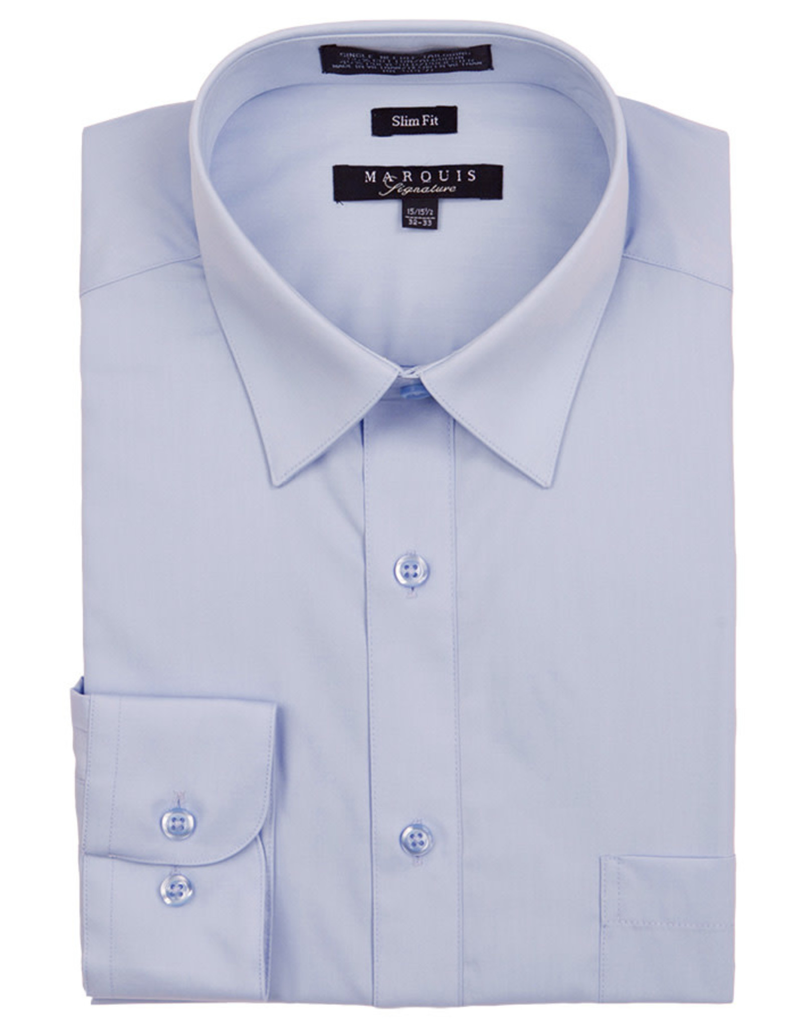Marquis Dress Shirt MarQuis Slim Fit Light Blue