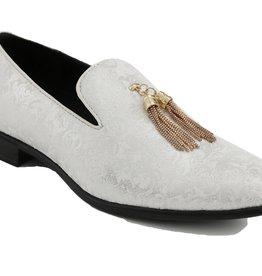 Shoe Slip-on Chain Tassel Baron